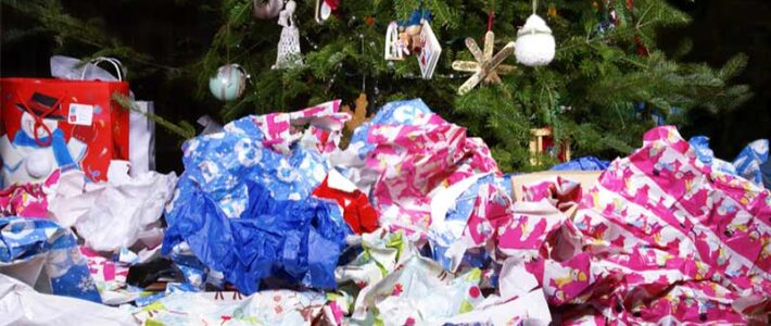 Steps to conduct post Christmas waste disposal at home